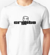 Anonymus Cryptography - black T-Shirt