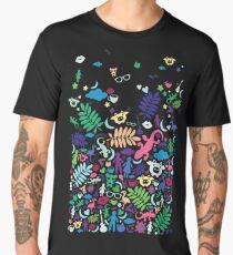 Colorful Night Paradise Men's Premium T-Shirt