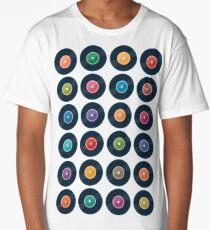 Vinyl Record Collection Long T-Shirt