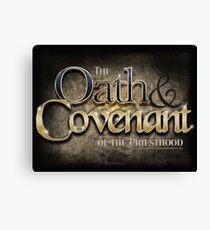 Oath & Covenant Canvas Print