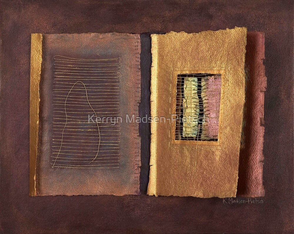 Page Format No.2 Transitional Series   by Kerryn Madsen-Pietsch
