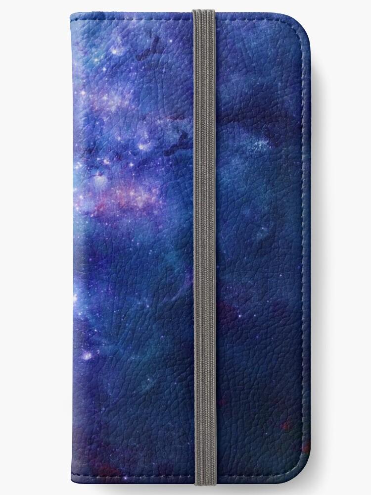 Blaue Galaxie von C. C. Barrett