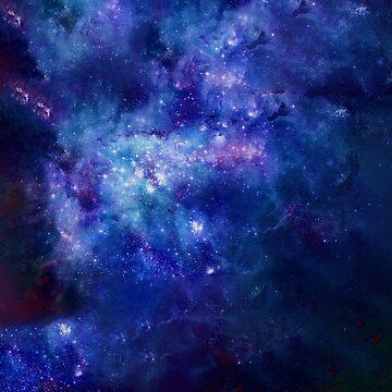 Blaue Galaxie von ccb9951