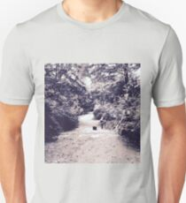 photography landscape nature trees girl T-Shirt