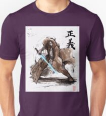 Jedi Knight from Star Wars with calligraphy T-Shirt