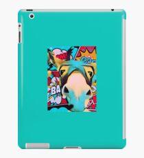 Funky Super Hero Pop Art Donkey iPad Case/Skin