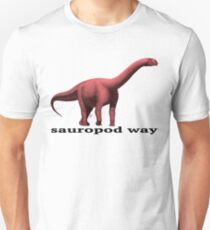 Sauropod way red T-Shirt