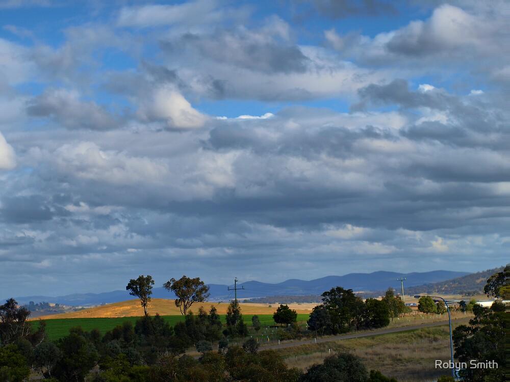 Big Aussie skies by Robyn Smith