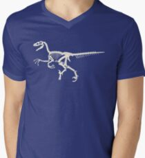 Velociraptor Men's V-Neck T-Shirt
