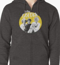 Stay Golden Zipped Hoodie