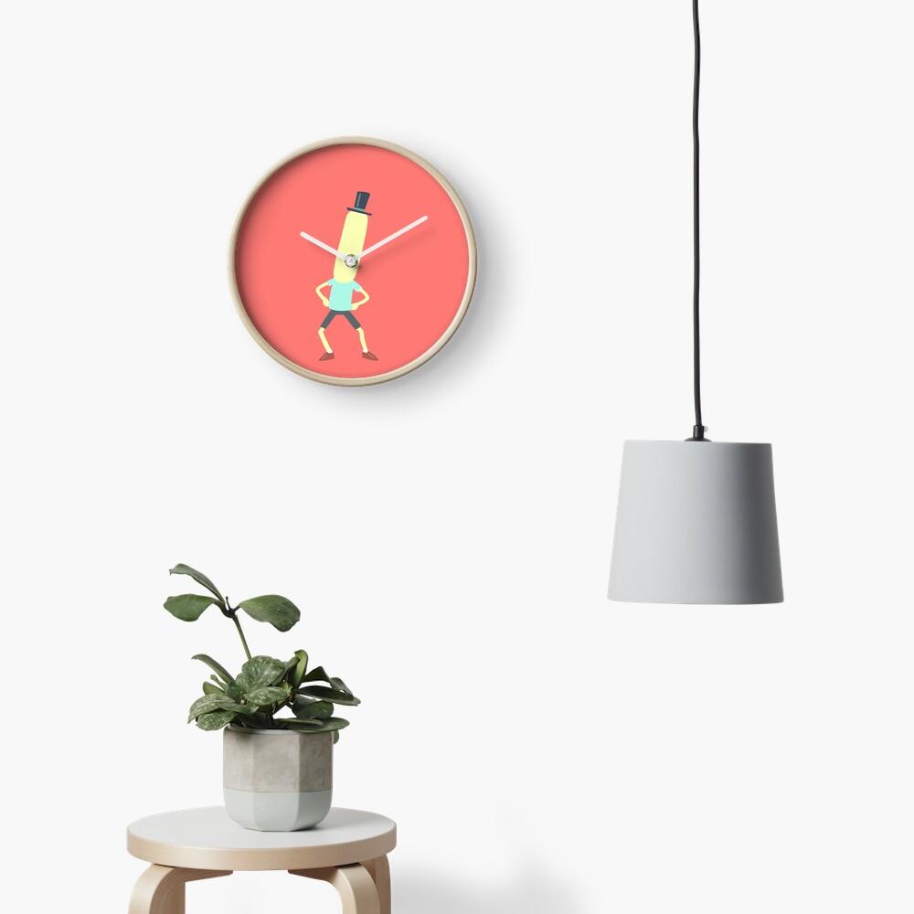 Minimalist Mr. Poopybutthole Clock