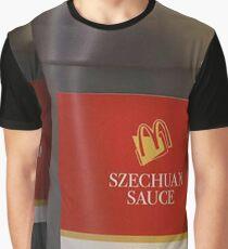 Szechuan Chicken McNugget Sauce Graphic T-Shirt