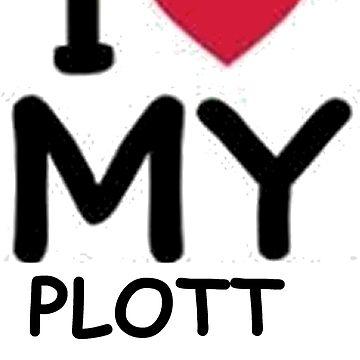 plott hound love by marasdaughter
