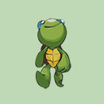 trippy turtle by Viri