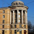 House with rotunda classical architecture  by mrivserg