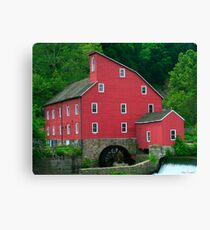 The Old Red Mill Canvas Print