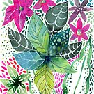 leafy Tropical by Janet Broxon