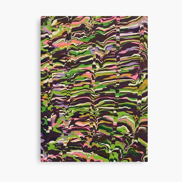 Abstract Music pattern Nature Rocks waves Canvas Print