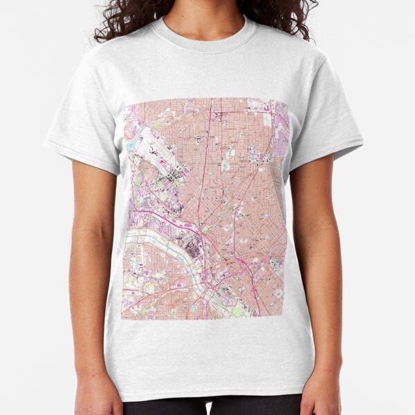 Dallas City Shamrock Tri-Blend Long Sleeve T-Shirt
