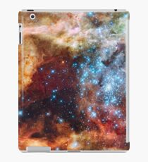 Red Blue Galaxy iPad Case/Skin