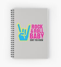 Paramore: Rock and Roll Baby, Dont You Know - BLK Spiral Notebook