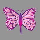 Butterfly Purple by RogueGear