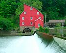 Falls and Mill by Mary Campbell