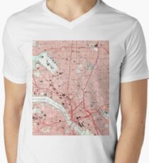 Dallas Texas Map (1995)  T-Shirt