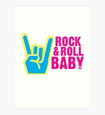 Paramore: Rock and Roll Baby, Dont You Know - WHT Art Print