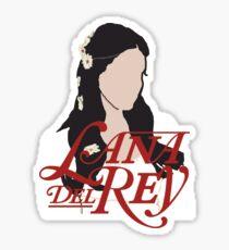 Lana Del Rey Lust For Life Logo Sticker