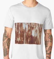 Rusty iron  abstract background Men's Premium T-Shirt