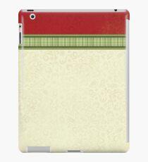 Red & Green Ribbon iPad Case/Skin