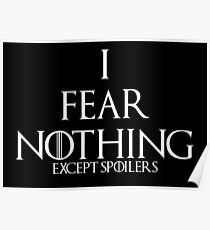 I FEAR NOTHING... Poster