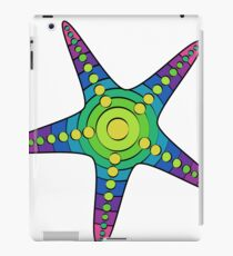 Rainbow Anemone Starfish iPad Case/Skin