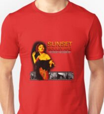 SUNSET BOULEVARD Sunset Norma Desmond Film Strip COLOR T-Shirt