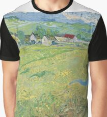 Vincent van Gogh - Les Vessenots in Auvers (1890)	 Graphic T-Shirt