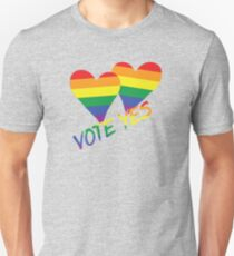Marriage Equality-Two Hearts-Australia T-Shirt