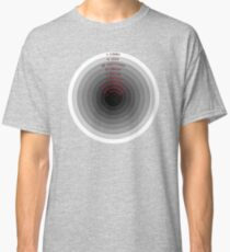Dante's Inferno - 9 Levels of Hell in Circle Classic T-Shirt
