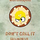 Aggravated Hummus by Joumana Medlej