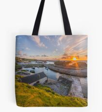 Ballintoy  harbour , County Antrim , Northern Ireland Tote Bag