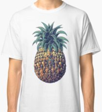 Ornate Pineapple (Color Version) Classic T-Shirt