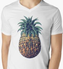 Ornate Pineapple (Color Version) T-Shirt