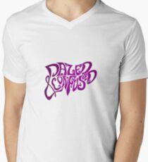 Camiseta para hombre de cuello en v Mareado y confuso