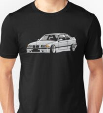 Stanced out E36 Gray T-Shirt