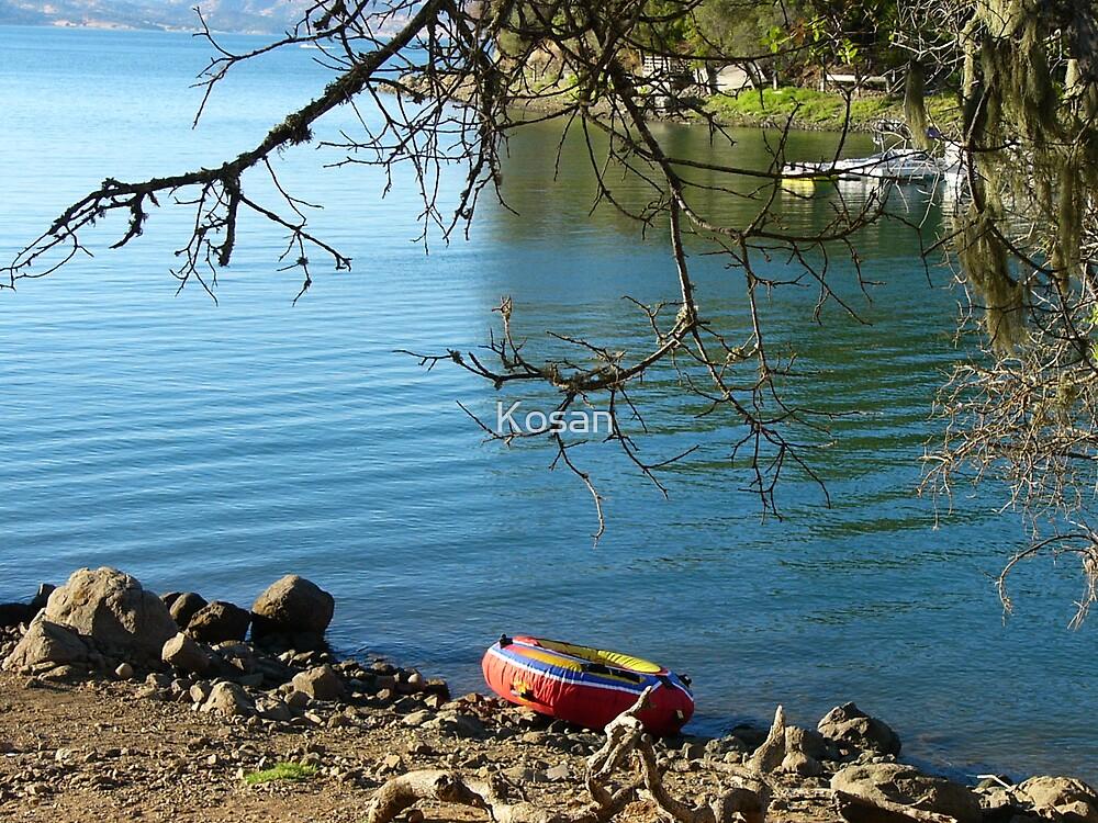 Red Raft by Kosan