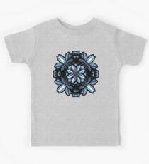 Metallic Leaves Mandala Kids Clothes