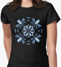 Metallic Leaves Mandala T-Shirt