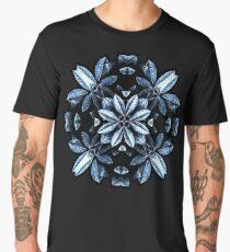 Metallic Leaves Mandala Men's Premium T-Shirt