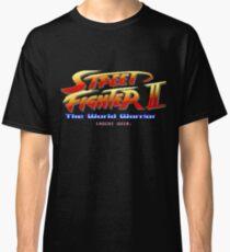Street Fighter II - Pixel Art Classic T-Shirt