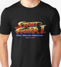 Camiseta ajustada Street Fighter II - Pixel Art
